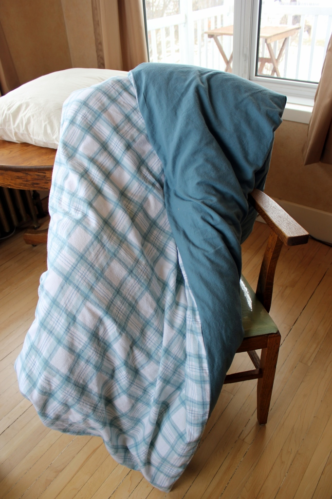 "Couch Duvet , AKA "" Magic Blanket"""